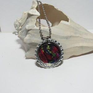 Zombie Girl Necklace